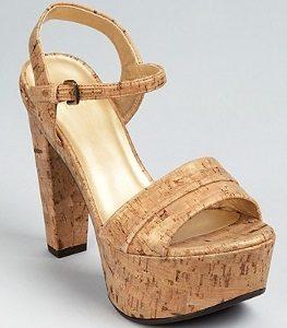 Platform Cork Sandals