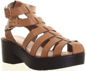 Platform Gladiator Sandal