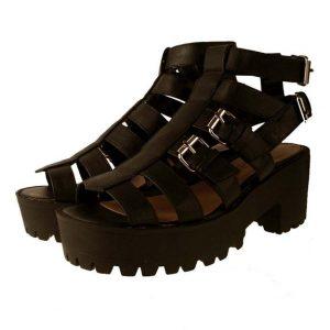 Platform Gladiator Sandals Pictures