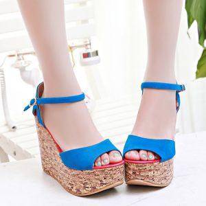 Platform Heel Sandals Images