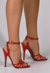 Red High Heel Sandals Images