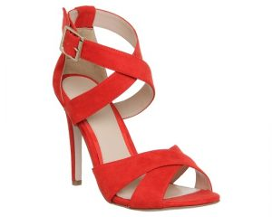 Red Sandal High Heel
