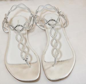 Rhinestone Sandals Wedding