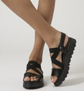 Strappy Platform Sandals Pictures