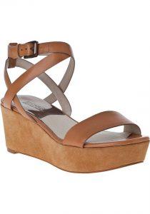 Tan Platform Sandals