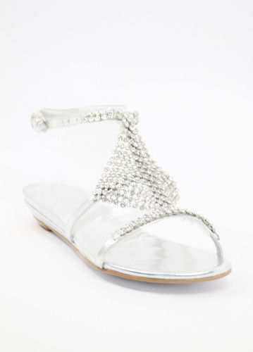 fe5af11ac15 Wedding Sandals with Rhinestones