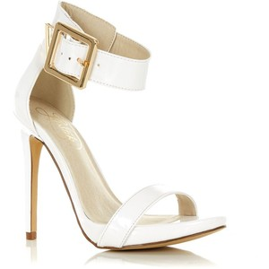 White Ankle-Strap Sandals | Crafty Sandals