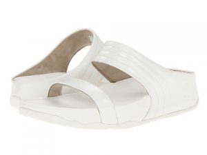 White Slide Sandals Photos