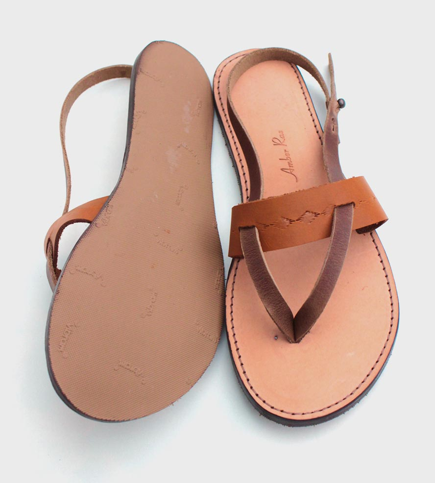 Leather Thong Sandals Pictures