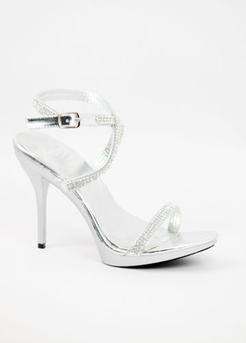 Silver Platform Shoes For Wedding 017 - Silver Platform Shoes For Wedding