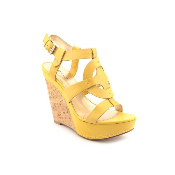 Yellow Wedge Sandals Craftysandals Com