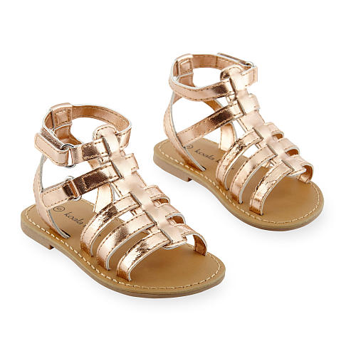0cf750fd67d4 Gold Sandals for Toddlers