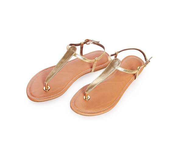 532dd76fa Thong Sandals with Ankle Strap