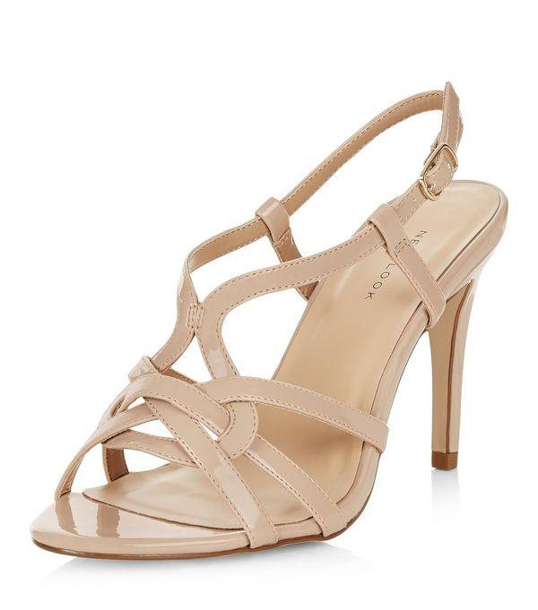 7940db72d89 Cream Heeled Sandals