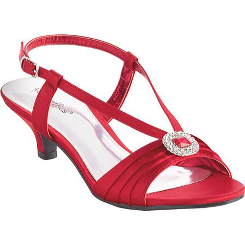 86b9a02d78b Red Kitten Heel Sandals
