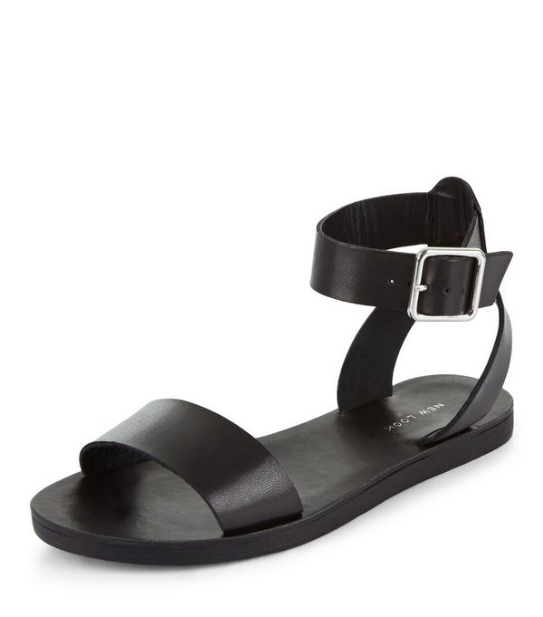 Black Ankle Strap Sandal - Black Ankle Strap Sandals Crafty Sandals