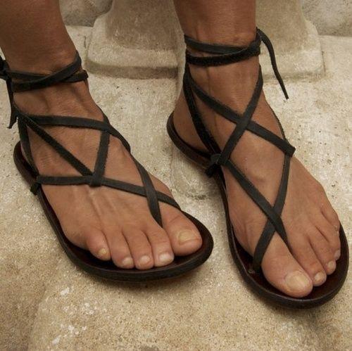Black Jesus Sandals Craftysandals Com