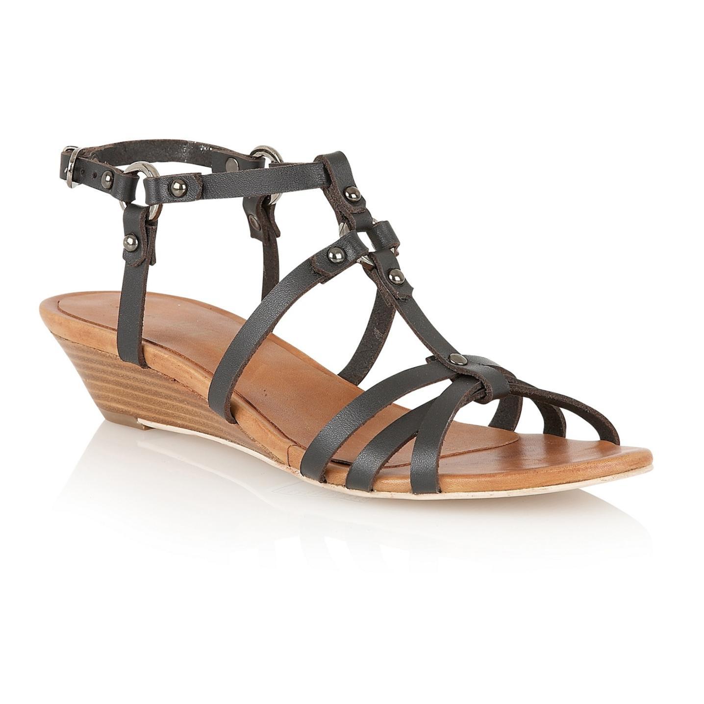 Strappy Wedge Sandals Craftysandals Com