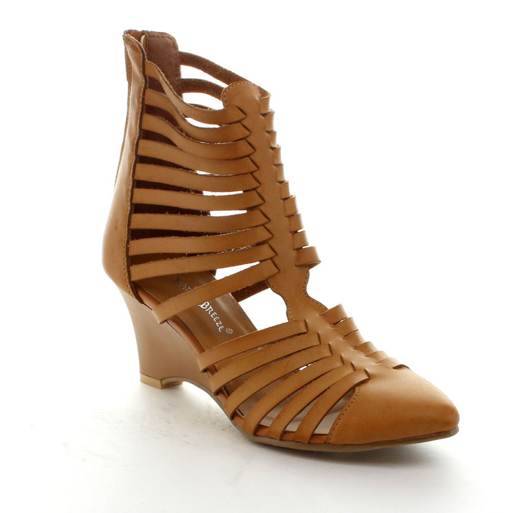 266a4cf7322c Closed-Toe Gladiator Sandals