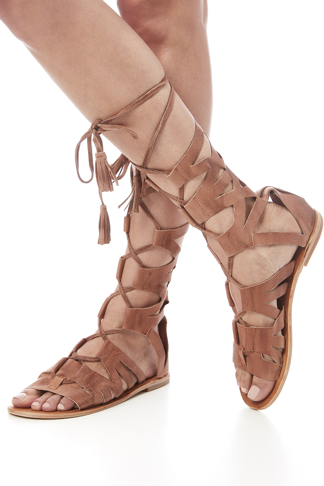 b5ea44099989 Pictures of Tan Gladiator Sandals
