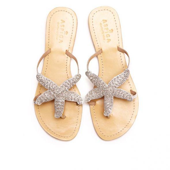 Beach wedding sandals crafty sandals beach sandals wedding junglespirit Choice Image