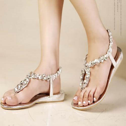 2672b41dc5e98 Beach Wedding Sandals