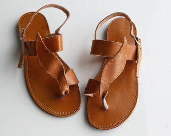 0b1def5881c3cd Brown Leather Sandals for Women