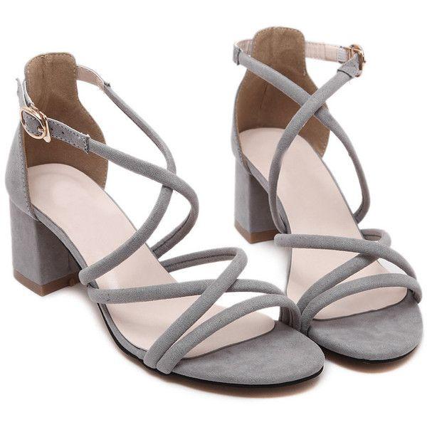 1a45dd0f046 Grey Sandals