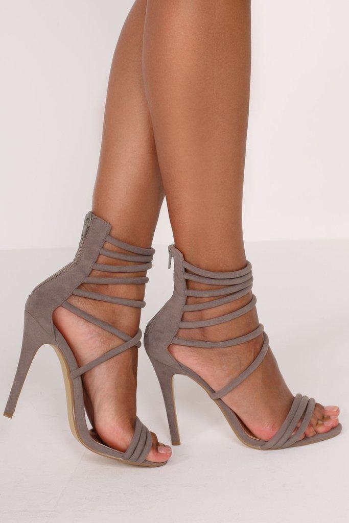 Grey Sandals | Crafty Sandals