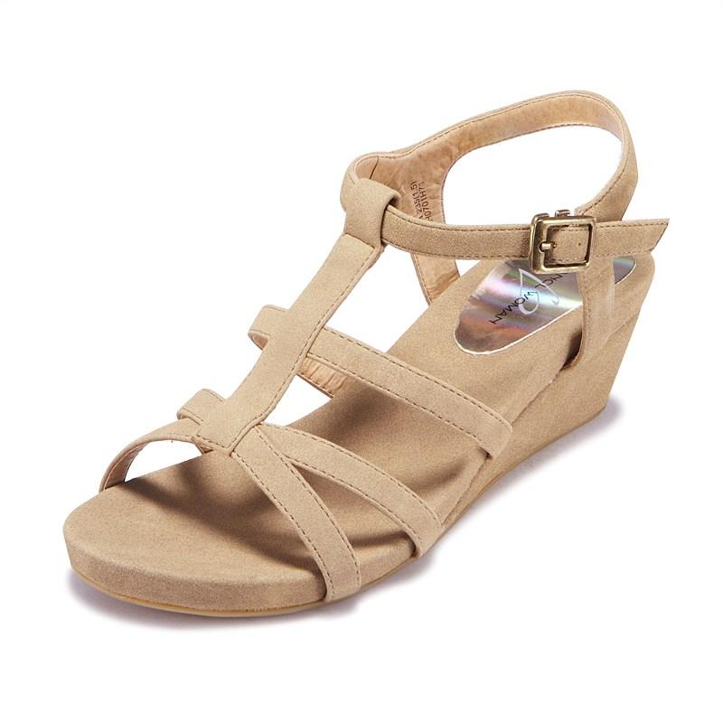 b965e9ff19 Low Wedge Sandals | CraftySandals.com
