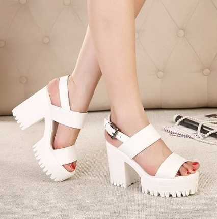 Chunky Platform Sandals | Crafty Sandals