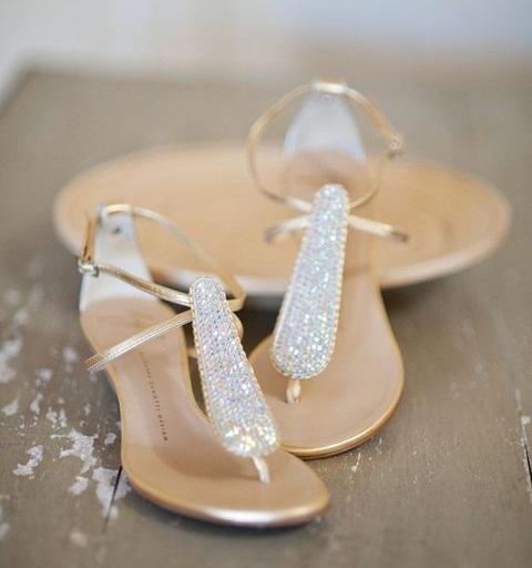 Beach wedding sandals crafty sandals sandals beach wedding junglespirit Image collections