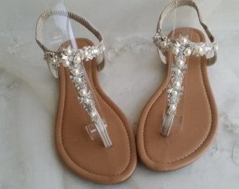Beach Wedding Sandals   Crafty Sandals