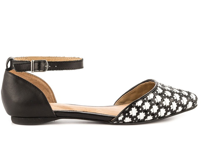 3796714ce Black and White Sandals for Women