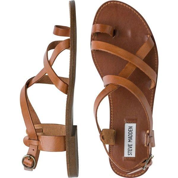 Brown Flat Sandals Craftysandals Com
