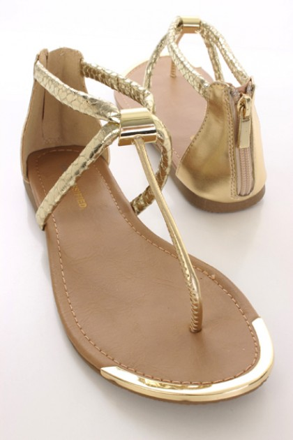 251b49612c43 Images of Gold Thong Sandals