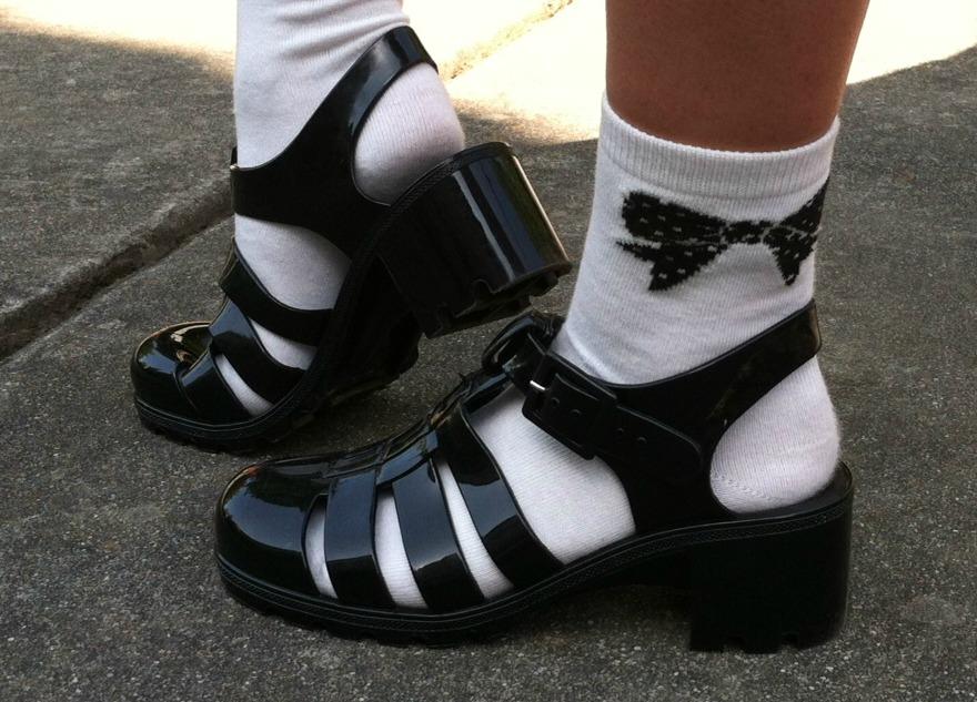 Black Jelly Sandals Craftysandals Com