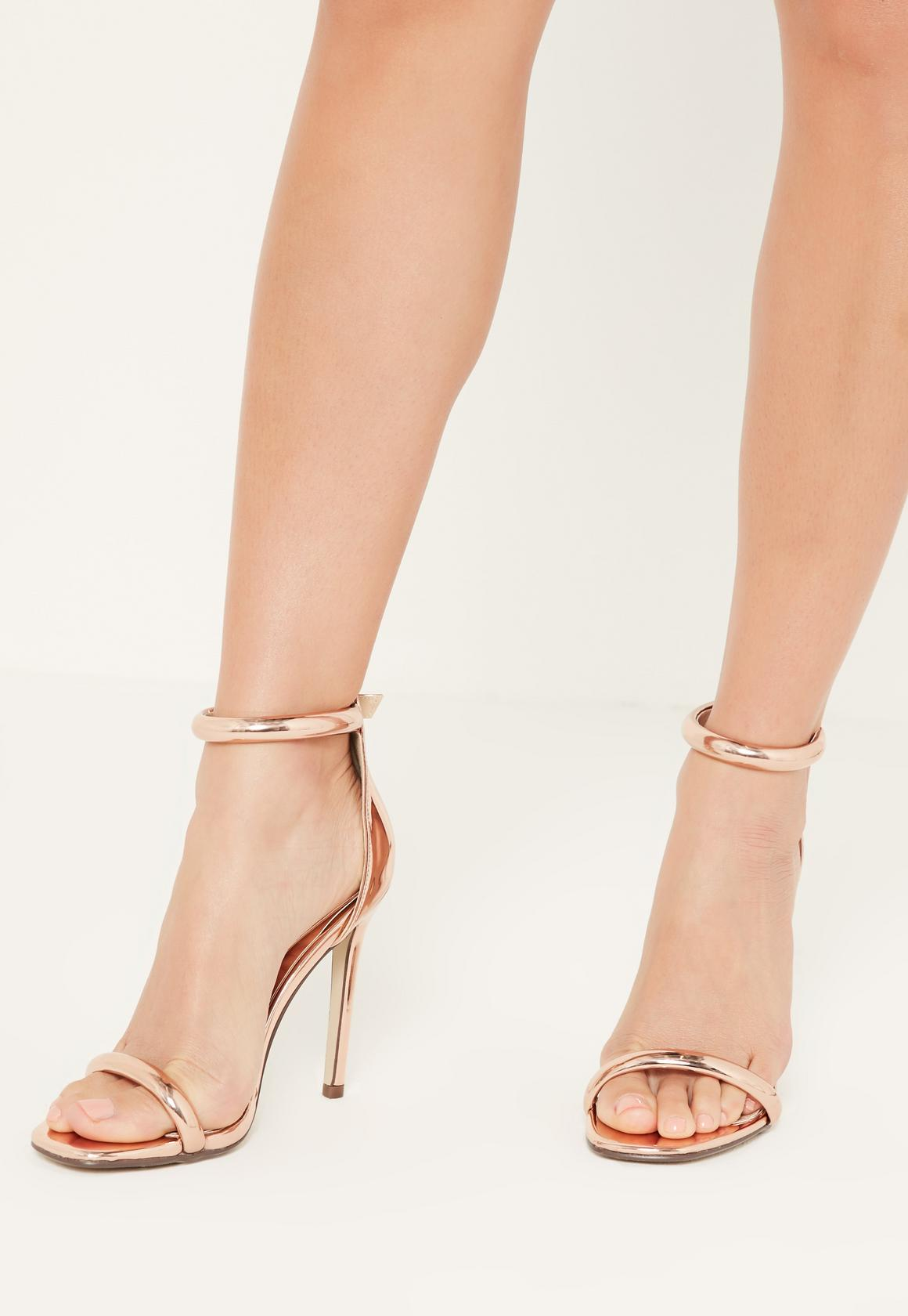Rose Gold Sandals | Crafty Sandals