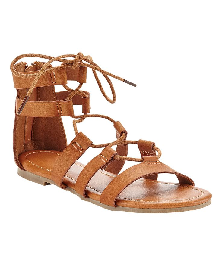 fea923c88254f Short Lace Up Gladiator Sandals