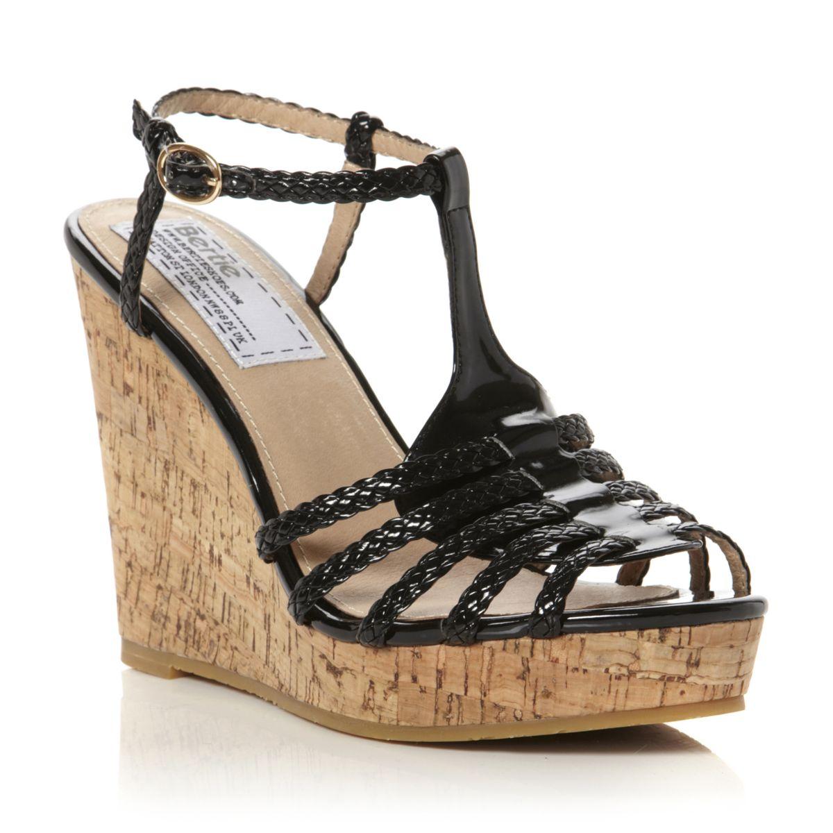 Cork Wedge Sandals Craftysandals Com