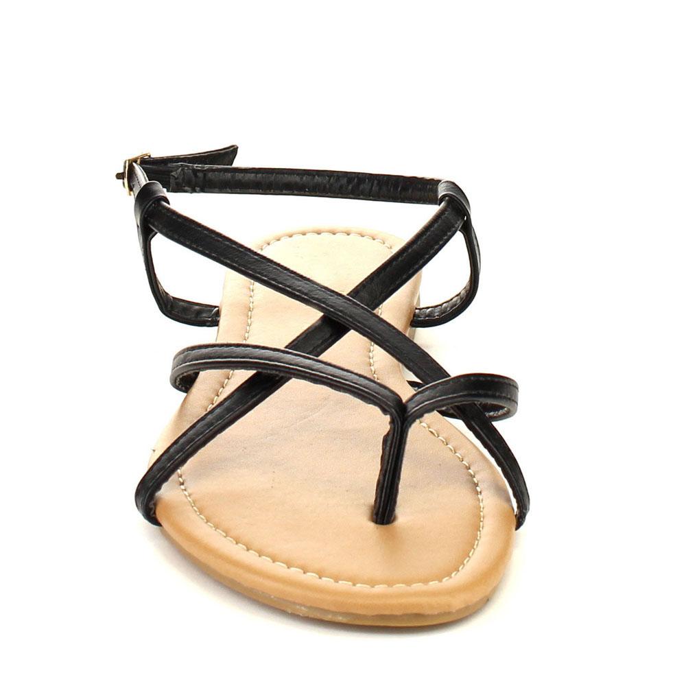 Strappy Flat Sandals Craftysandals Com