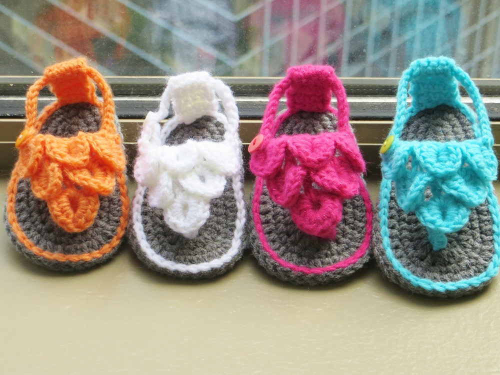 Crochet Baby Sandals Crafty Sandals