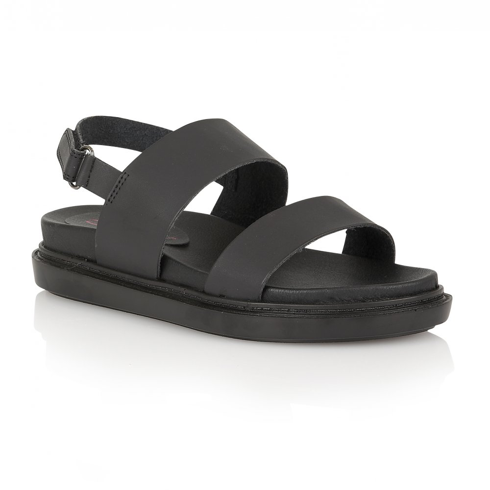 cdf3dcf7aa9 Black Flatform Sandals
