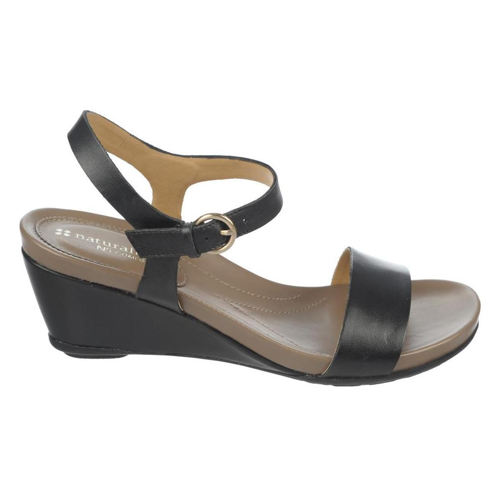 0f631ba46d63 Black Leather Sandals for Women