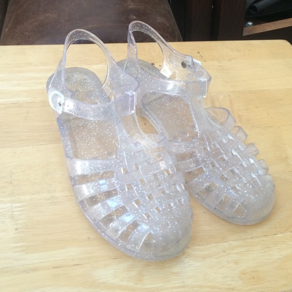 Clear Jelly Sandals Crafty Sandals