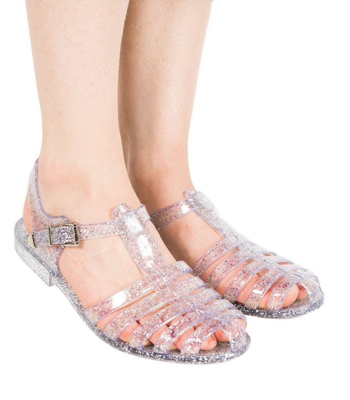 Clear Jelly Sandals Craftysandals Com