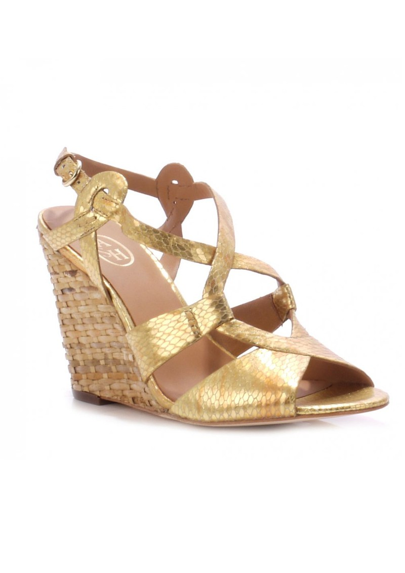 Wedge Gold sandals pictures best photo