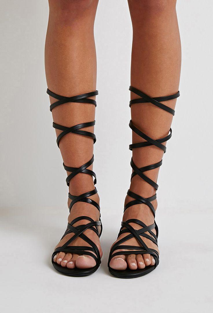Strappy Gladiator Sandals Craftysandals Com