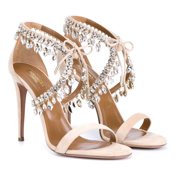 ddef97acdab7c0 Jeweled Sandals with Heels