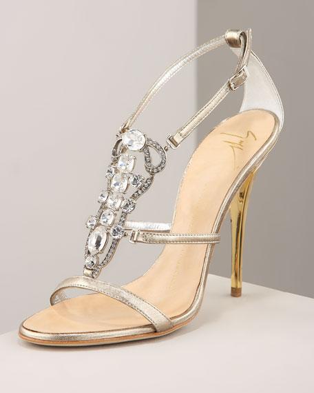 c1404f36f45 Jeweled Sandals Heels